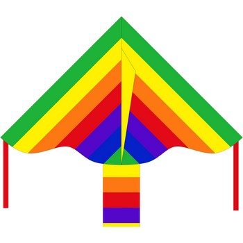 HQ Simple Flyer Rainbow Kite 85cm